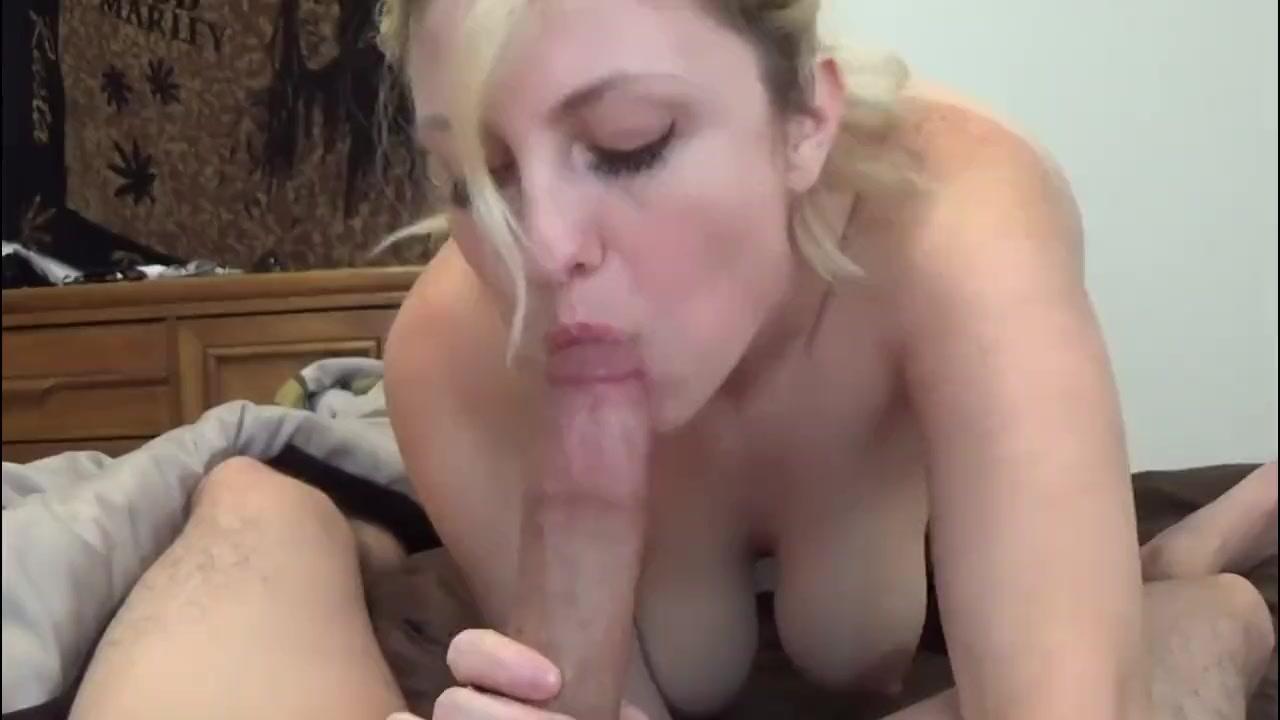 Step Mom Teaches Blowjob