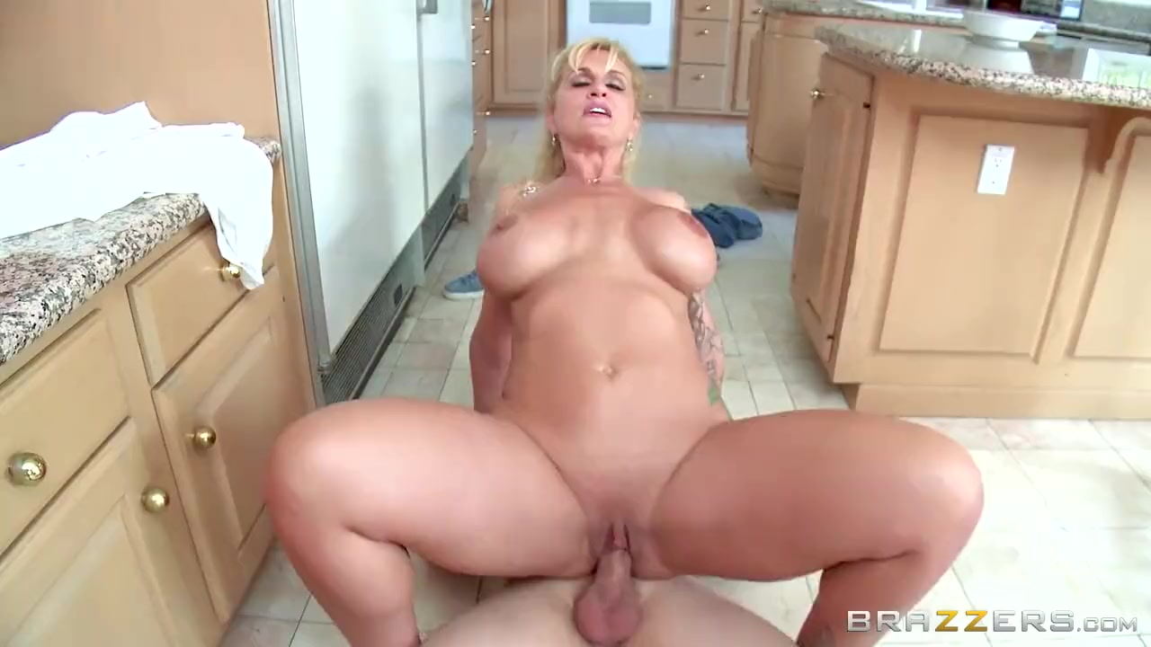 Mature Takes Monster Cock