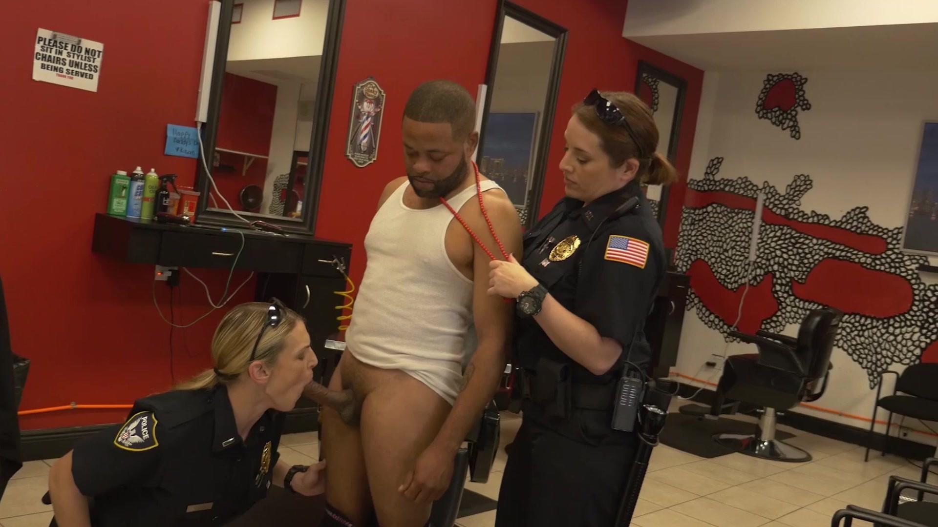 Super hot latina cop get fucked with tongue and big cock